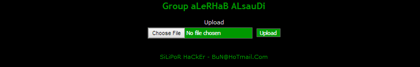 aLeRHaB ALsauDi shell screenshot